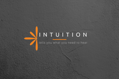 Intuition tells you what you need to hear.
